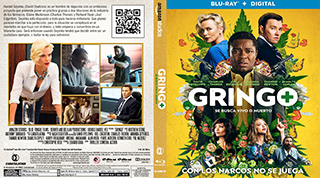 Gringo - Se busca vivo o muerto - Cover BluRay